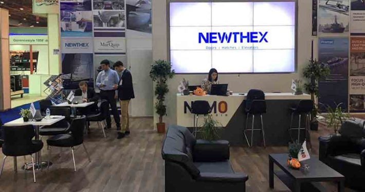Newthex at CNR Eurasia Boat Show