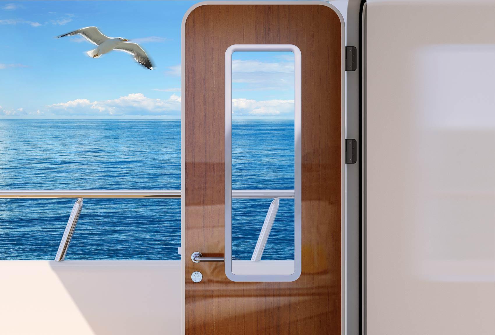 Options and extra\u0027s & Accommodation Doors \u2013 Accommodation hinged door \u2013 Newthex