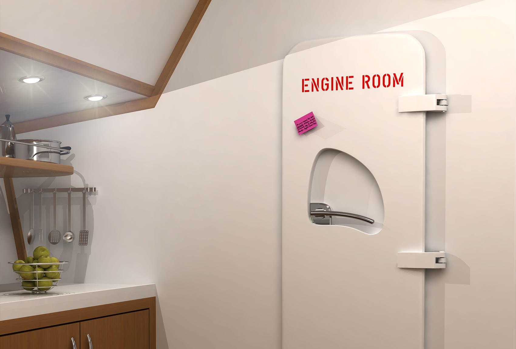 Double hinged yacht door & Watertight Doors \u2013 Hinged Yacht door \u2013 Newthex