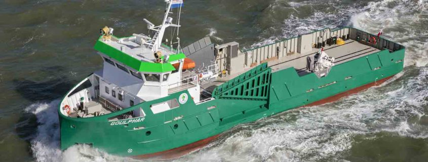 Newthex creates unique double ramp for Ro-Ro vessel